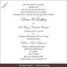 Sample Wedding Invitation Wording Wedding Invitation Etiquette And Wedding Invitation Wording