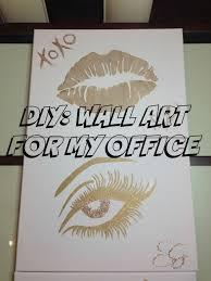 diy office art. Simple Diy DIY  Wall Art For My Office In Diy E