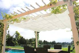 retractable pergola canopy. Pergola Shade Canopy Retractable Shades White Sample Creative Design With Wooden Stained . O