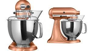 kitchenaid artisan mixer satin copper