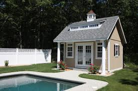 small pool shed. Small Pool Shed E