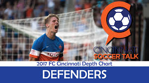 2017 Fc Cincinnati Depth Chart Defenders Cincinnati