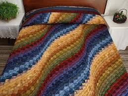 62 best Bargello images on Pinterest | Bargello quilts, Bargello ... & photo of Hand Painted Bargello Wave Quilt Adamdwight.com