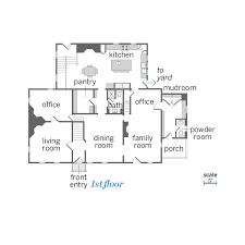 floor plan farmhouse first floor the added on to