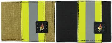 source for firefighting professionals introduces their exclusive bunker gear wallets constructed of the same stuff that protects firefighters