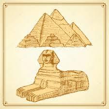 египетские символы эскиз векторное изображение Kali13 76141371