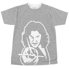 books on t shirts up to 40 000 words litographs the princess bride