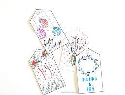 Green or perhaps navy blue. Printable Christmas Gift Tags Inkstruck Studio