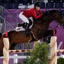 Tokyo Olympics equestrian qualifier ...