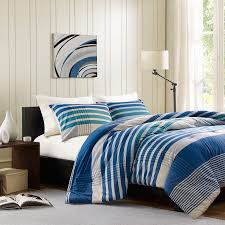 great twin xl comforter sets for college with nice stripes plaid blue comforter set twin