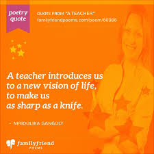 Poems And Quotes About Life Gorgeous Teacher Poems Thank You Poems For Teachers