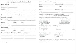 Employment Emergency Contact Form New Customer Contact Form Template Travel Enquiry Word