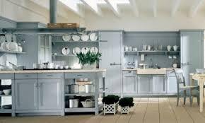 Pareti Azzurro Grigio : La cucina country di minacciolo ideare casa