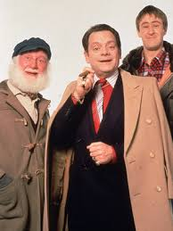 only fools and horses image shows from l to r uncle albert buster
