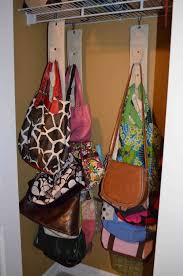 diy purse hanger for closet best image ccdbb