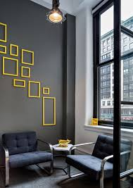 yellow office decor. office tour daily burn offices u2013 new york city yellow decor i