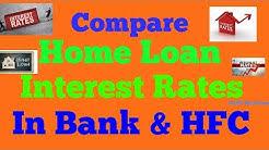 Rates Home Loan Comparison Interest