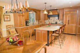 Kitchens With Cherry Cabinets Stunning Cherry Wood Custom Kitchen Traditional Kitchen Philadelphia