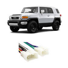 car electronics installation products for toyota fj cruiser toyota fj cruiser 2007 2014 factory stereo to aftermarket radio install harness