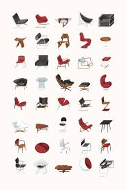 Iconic Modern Furniture 94 Best Furniture Images On Pinterest Chairs Lounge Chairs And