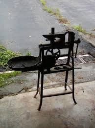 coal forge for sale. all-in-one portable forge, anvil and vise, handy for small work coal forge sale