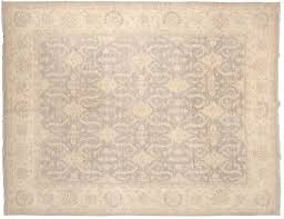 8x10 chobi grey oriental rug 046674