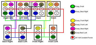 switch wiring 2 pump 4 dump 8 switches