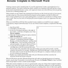 Word 2007 Resume Template Wonderful Free Resume Templates That Stand