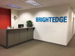 software company office. Photo By BRIGHTEDGE Software Company Office