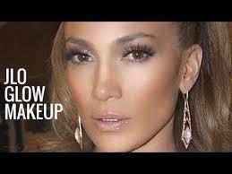 jlo glow makeup jennifer lopez tutorial bronzy glowy you