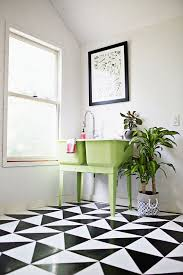 Patterned Linoleum Flooring Adorable THE ROOM Fancy Laundry Pinterest Laundry Rooms Laundry And Room