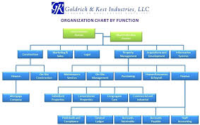 Simple Organizational Structure Chart Rightarrow Template Database