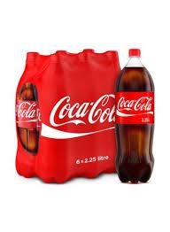 Coca Cola Light 235 Ml Shop Coca Cola Regular Soft Drink 2 25 Liter Pack Of 6