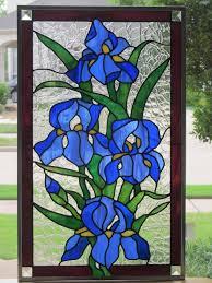 blooming iris glass pack