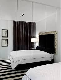 Mirror Wall Bedroom Wonderful Interior Small Bedroom A Breakthrough In Space With