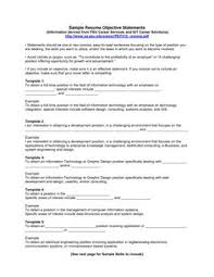 resume examples resume objective example objective examples for resume example resume example resume objective examples job interview and career guide resume career overview example
