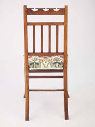 Oak Bedroom Chair Small Edwardian Arts Crafts Oak Chair