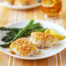 Lemon and Parmesan Fish Recipe