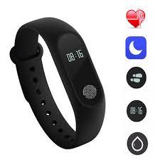 <b>New Smart Health Bracelet</b> M2 Heart Rate Bracelet Life Waterproof ...