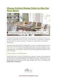 ppt choose perfect dining table by