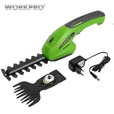 <b>WORKPRO 18V Electric Trimmer</b> Lithium ion Cordless Hedge ...