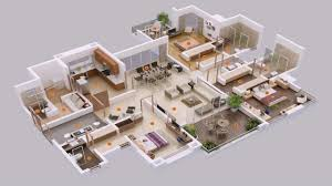 5 bedroom house plans. Unique Plans 5 Bedroom House Plans 3d Intended U