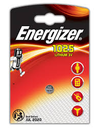 <b>Батарейки</b> Energizer для электронных устройств - <b>CR1025</b> Russian