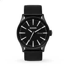 watch men in black online ourlocalheroes org mens nixon the sentry leather watch
