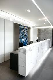 modern office reception. nice office project van den weghe architecture by buro ii archii realised modern reception furniture