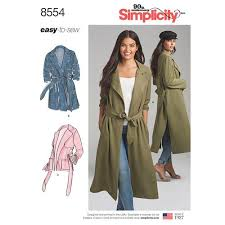 Simplicity Pattern Simple Simplicity Pattern 48 Misses' and Miss Petite Coats and Jackets