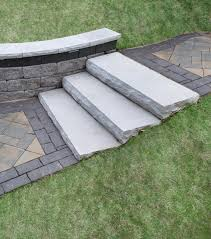 Cinder Block Stairs Stepping Stones Stairs Column Caps Coping Patio Town
