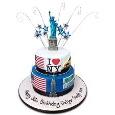 New York Cake Birthday Cakes The Cake Store