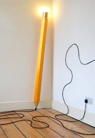 Hb Lamp A Sculptural Lamp Shaped Like A Giant Pencil