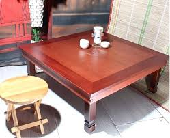 antique furniture folding table legs square living room coffee for tea traditional low in tables from korean book